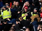 Nem csak magyar ultrák csatáztak a Wembley-ben