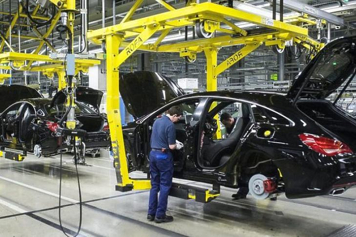 A magyar gyárak is leálltak (MTI fotó - Újvári Sándor)