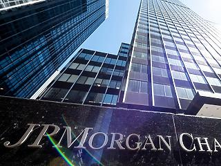 JP Morgan Chase: 69 százalékos esés a negyedéves profitban