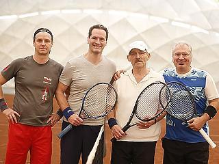 A Tisztelt Ász! tenisztorna több mint verseny