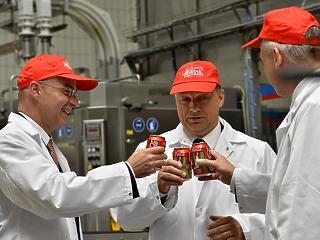 30 milliárdos fejlesztést hajt végre a Coca-Cola Magyarországon
