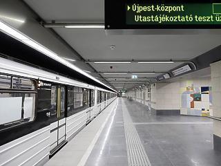 A nap képe: ilyen a felújított 3-as metró
