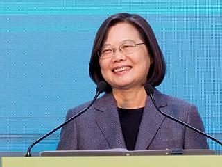 Nagyot ment a Kína-kritikus elnök Tajvanon