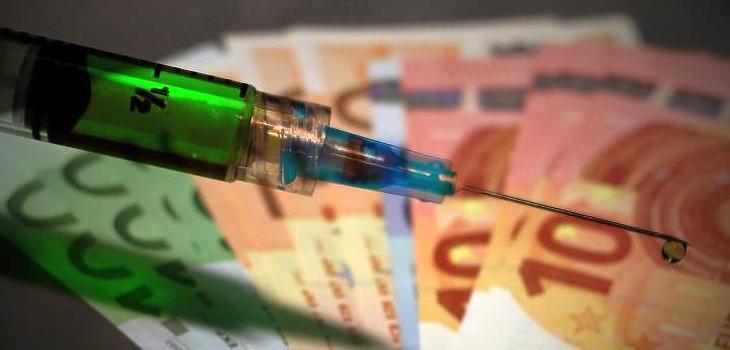 Vírus, gyógyszer, pénz (Pixabay.com)