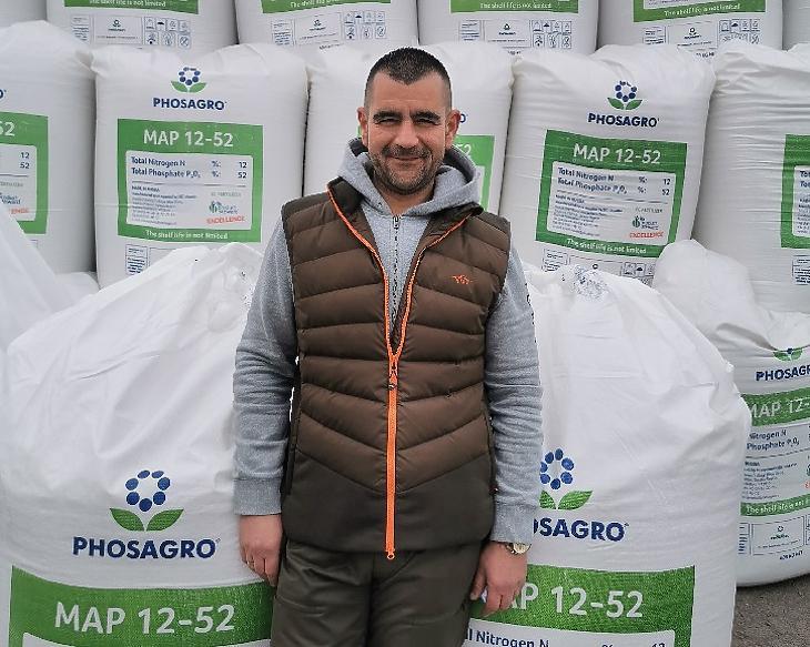 Dávid Tamás, a Keleti Agrár Kft. ügyvezetője