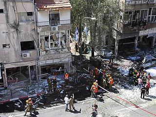 """""""Robbanásra ébredtem"""" – ilyen az élet egy rakétáktól fenyegetett izraeli városban"""