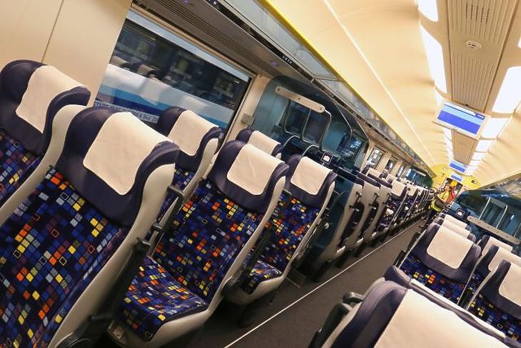 Hétfőtől elkezdődik a magyarországi vonatok teljes fertőtlenítése