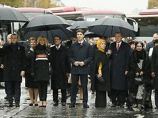 Erdogan és Putyin a legbékésebb vezetők között