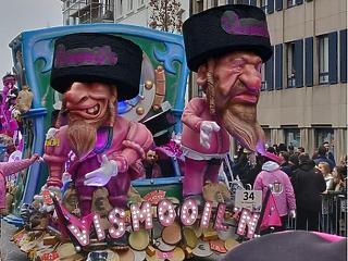 Antiszemitizmussal vádolják a flandriai kisváros híres karneválját