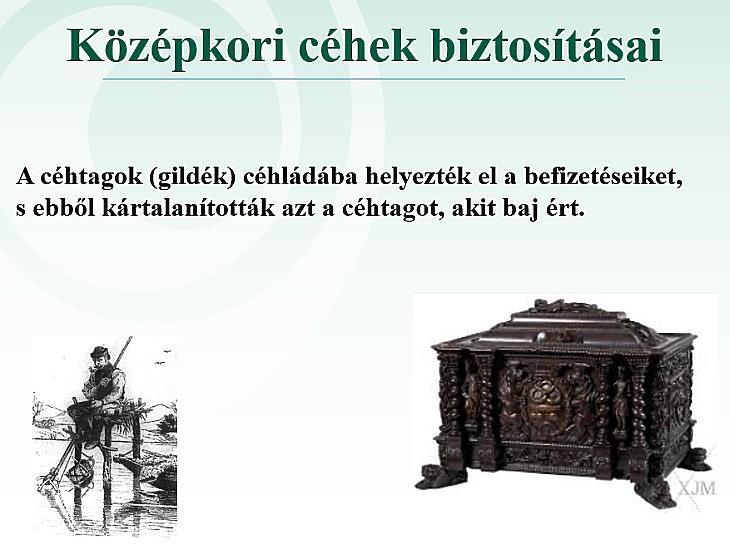 Középkori céhek biztosításai (Mabisz)