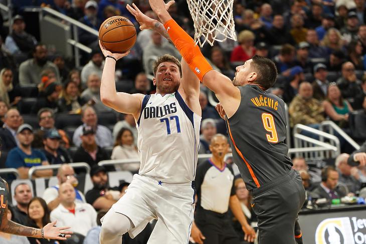 Az NBA-s Dallas Mavericks szlovén sztárja: Luka Doncic. Fotó: depositphotos