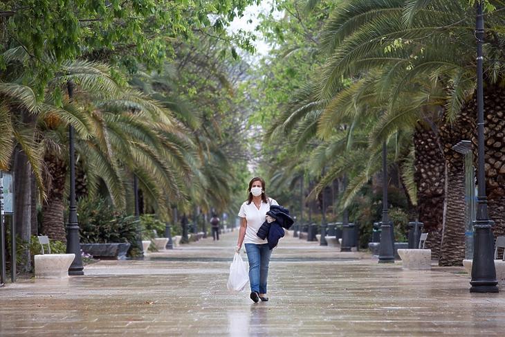 Malaga, Spanyolország, 2020. április 4. EPA/Daniel Perez