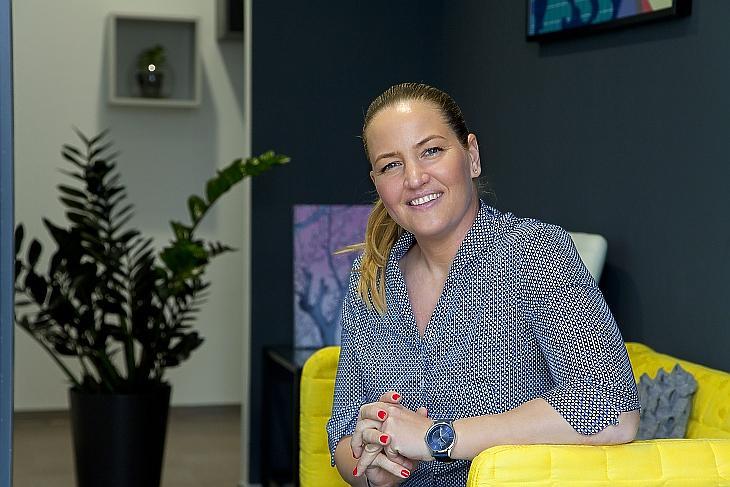 Csasztvan Nóra médiaértékesítési szakértő, a DisplayNOW vezetője