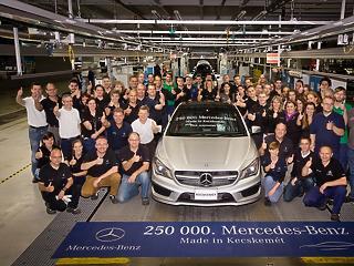 Nagy bejelentést tett a magyar Mercedes