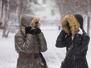 Jön az igazi tél? Havazás tart Magyarország felé