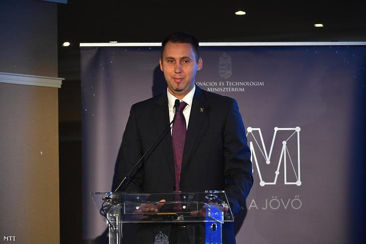 Virág Barnabás, az MNB alelnöke. Fotó: MTI