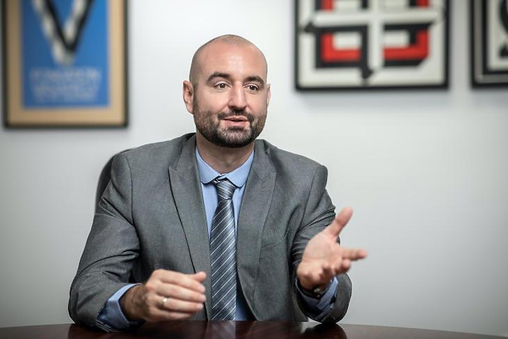 Bartók György, a Takarék Követeléskezelő vezérigazgató-helyettese. Fotó: Takarékbank