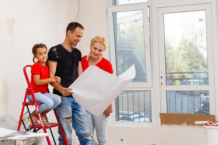 Továbbra is előnyben lesznek a CSOK-os lakásvásárlók (fotó:depositphotos)