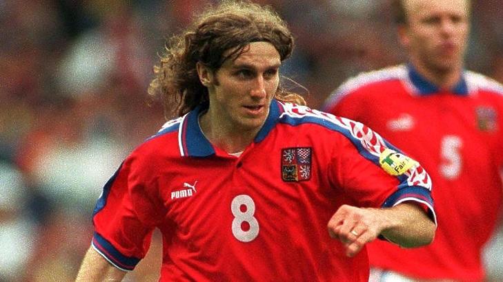 Karel Poborsky igazi Eb-legenda lett, a Manchester Unitedben viszont nem tudott bizonyítani (Forrás: UEFA)