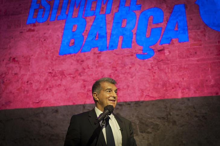 Joan Laporta, az FC Barcelon régi-új elnöke (Forrás: joanlaporta.cat)