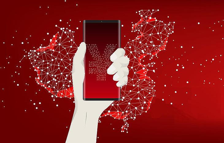 Kínában digitális jüanok osztogatásával is népszerűsítik az eszközt (Fotó: Depositphotos)
