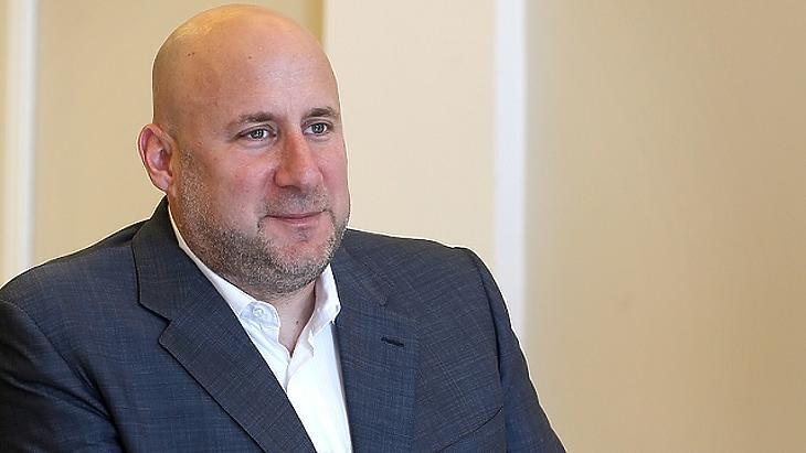 Jászai Gellért, a 4iG fő tulajdonosa és vezetője. Fotó: MTI