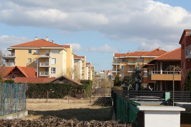 Egymást érik az apartmanházak Siófokon (fotó: Mester Nándor)