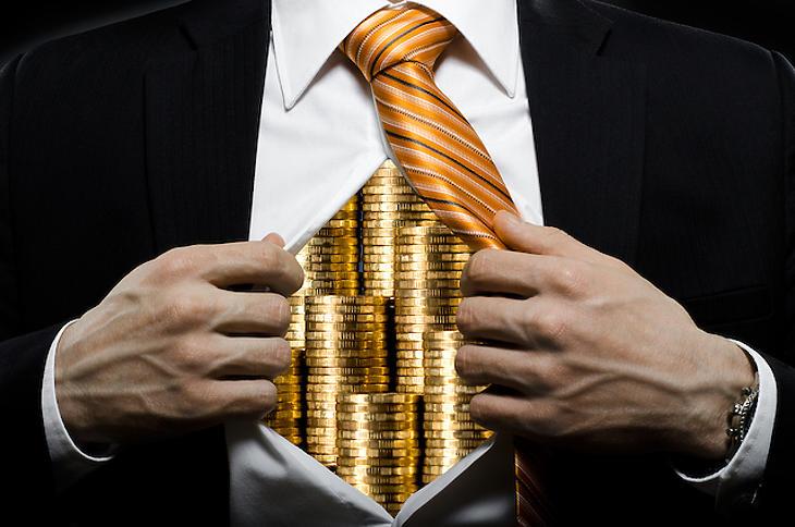 A gazdagok még gazdagabbak lettek. Fotó: depositphotos