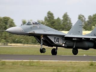 Még csak licitáló sem akadt a MiG-29-esekre