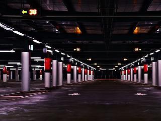A LED-es világítás a parkolókban is előnyös