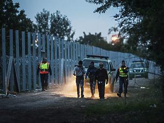 A határon gyakorlatoznak a magyar katonák