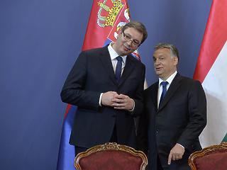 Orbán Viktor vacsorapartnere ma este Szerbia elnöke volt
