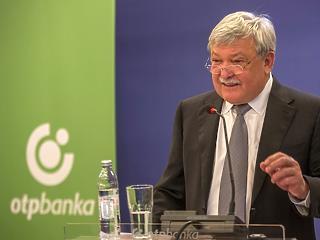 Csányi épp, csak belengette, és már meg is veszi a szlovén bankot az OTP