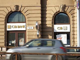 Két budapesti fiókját bezárja a CIB Bank