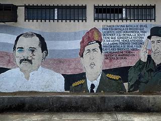 A nap képe: falra festették a baloldal forradalmárait