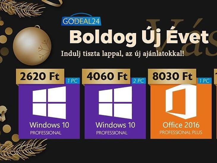 2021 speciális ajánlatai: Windows 10 Pro már 2600 forintért (x)