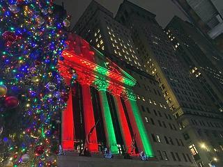 Történelmi csúcson a Wall Street indexei