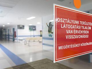 Nem lehet látogatni a betegeket az influenza miatt
