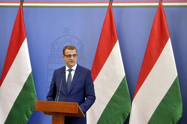 Alakszai Zoltán még Miskolc jegyzőjeként, 2019-ben. Fotó: MTI/Kovács Attila