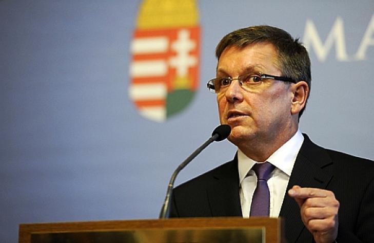 Matolcsy György szavaira óriásit erősödött a forint. Fotó: MTI