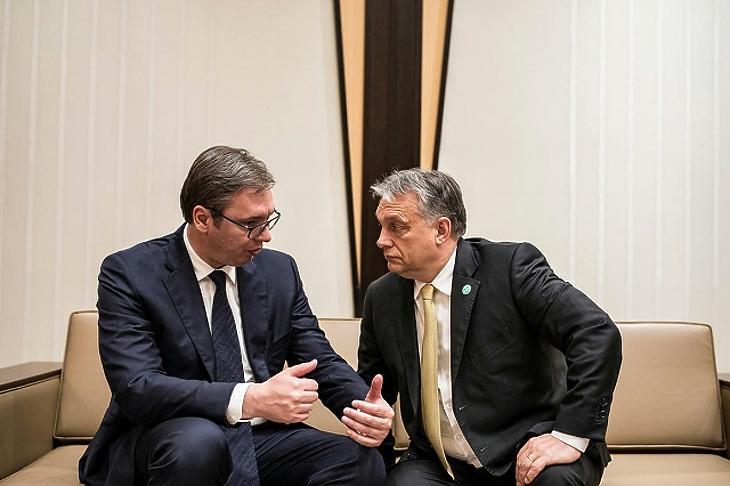 Aleksandar Vučić szerb elnök és Orbán Viktor magyar miniszterelnök állhat a háttérben?