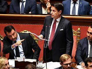 Bréking: lemond az olasz kormányfő