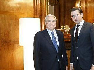 Tényleg csomagolnak: Soros és Kurz már a CEU Bécsbe költözéséről tárgyalt