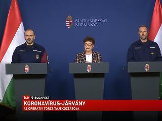 Hétfőtől kinyit Budapest: mit mond erről az operatív törzs? - Nézze élőben!