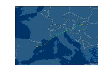 Villámcsapás ért egy Wizz Air gépet