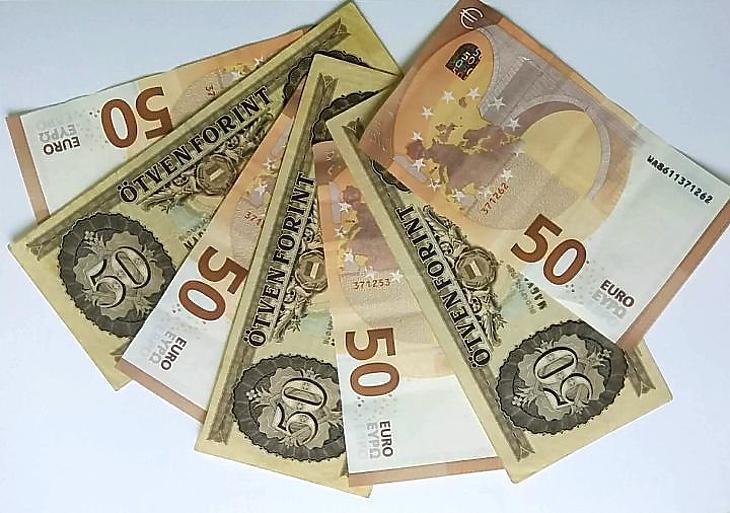 Euró és forint