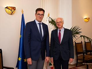 Karácsony Gergelyhez is beköszönt az új német nagykövet