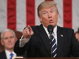 Trump szavai miatt a szívükhöz kaptak a befektetők