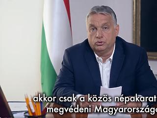 Szintet lép a nemzeti konzultáció: öt kérdéses népszavazást jelentett be Orbán Viktor