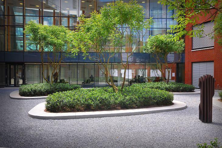 A Bosch kórház egyik látványos része